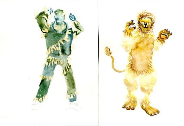 Scarecrow & Lion