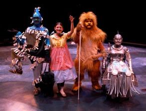 Scarecrow, Dorothy, Lion, & Tinwoman